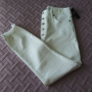 NWT Abercrombie&Fitch High Rise Super Skinny Ankle